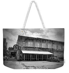 Ground Zero Black And White Weekender Tote Bag