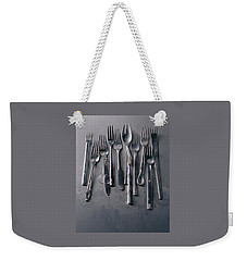Group Of Clean Forks Weekender Tote Bag