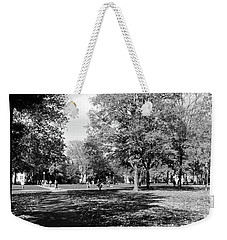 Group Of People At A University Campus Weekender Tote Bag by Panoramic Images