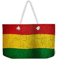 Grunge Bolivia Flag Weekender Tote Bag
