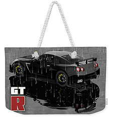Gtr In The Rain Weekender Tote Bag