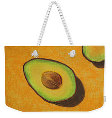 Guacamole Time Weekender Tote Bag by Marna Edwards Flavell