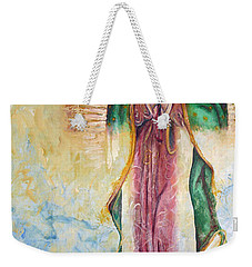 Guadalupana Weekender Tote Bag