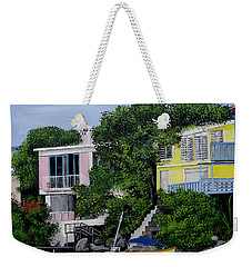 Guanica Bay Shoreline Weekender Tote Bag by Luis F Rodriguez