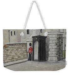 Guard At Windsor Castle Weekender Tote Bag