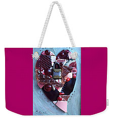 Guard Your Heart Weekender Tote Bag