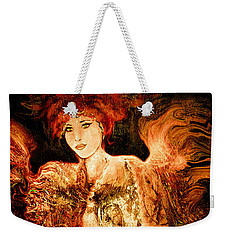Guardian Angel Weekender Tote Bag by Natalie Holland