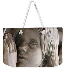 Guardian Angel With Praying Hands Weekender Tote Bag