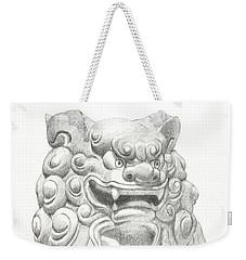 Guardian Lion Weekender Tote Bag