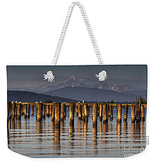 Guemes Channel Trail View Weekender Tote Bag