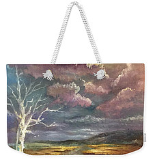 Guided By The Moon Weekender Tote Bag