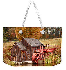 Guildhall Grist Mill Weekender Tote Bag by Jeff Folger