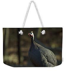Guinea Chicken Weekender Tote Bag