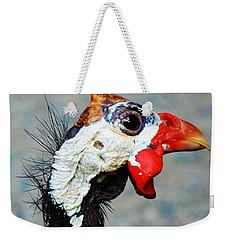 Guinea Hen Weekender Tote Bag