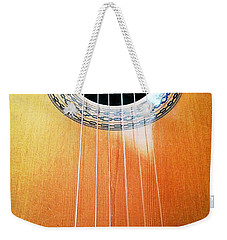 Guitar In The Light Weekender Tote Bag
