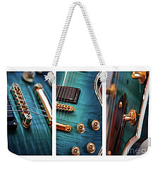 Weekender Tote Bag featuring the photograph Guitar Life by Joy Watson