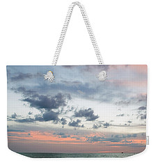 Gulf Of Mexico Sunset Weekender Tote Bag
