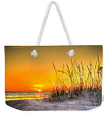 Gulf Sunset Weekender Tote Bag by Marvin Spates