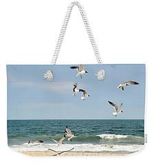 Gulls A Dance'n Weekender Tote Bag