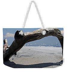 Gulls Away Weekender Tote Bag