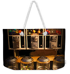 Gumball Memories - Row Of Antique Vintage Vending Machines - Iconic New York City Weekender Tote Bag