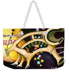 Gumballs Weekender Tote Bag by Sam Sidders