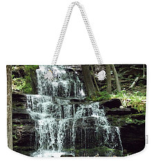Gun Brook Falls Weekender Tote Bag