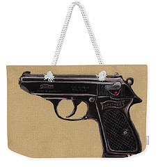 Gun - Pistol - Walther Ppk Weekender Tote Bag