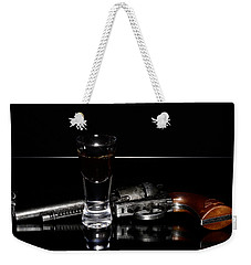Gun With Smoke Weekender Tote Bag