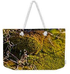 Weekender Tote Bag featuring the photograph Gunk by Joel Loftus