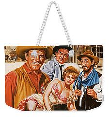 Gunsmoke Weekender Tote Bag