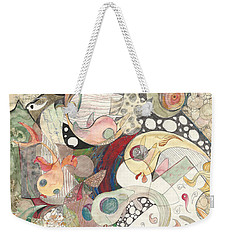 Guppies Galore Weekender Tote Bag by Melinda Dare Benfield