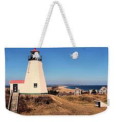 Gurnet Lighthouse Weekender Tote Bag