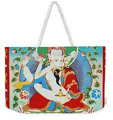 Guru Rinpoche Yab Yum Weekender Tote Bag