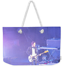 Weekender Tote Bag featuring the photograph Gutair Player For Royal Taylor by Aaron Martens
