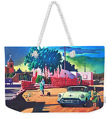 Guys Dolls And Pink Adobe Weekender Tote Bag