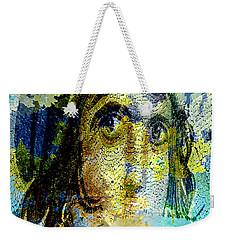 Gypsy Girl Mosaic Weekender Tote Bag