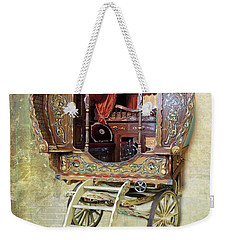 Gypsy Wagon Weekender Tote Bag by Mim White