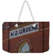 H D Gruene Weekender Tote Bag