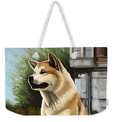 Hachi Painting Weekender Tote Bag