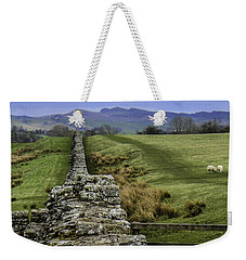 Hadrian's Wall Weekender Tote Bag by Mary Carol Story