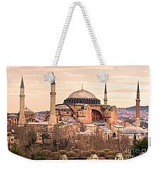 Hagia Sophia Mosque - Istanbul Weekender Tote Bag