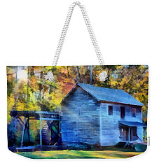 Hagood Mill With Sunrays Weekender Tote Bag