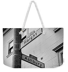 Haight And Ashbury Weekender Tote Bag