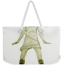 Hairy Boots Weekender Tote Bag by Tine Nordbred