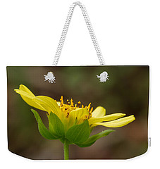 Weekender Tote Bag featuring the photograph Hairy Leafcup by Paul Rebmann