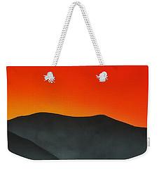 Hakarimata Sunset Weekender Tote Bag