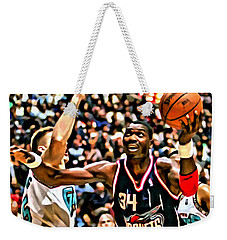 Hakeem Olajuwon Weekender Tote Bag