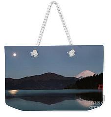 Hakone Lake Weekender Tote Bag