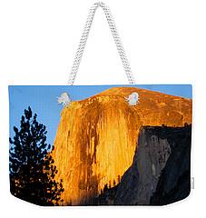 Half Dome Yosemite At Sunset Weekender Tote Bag